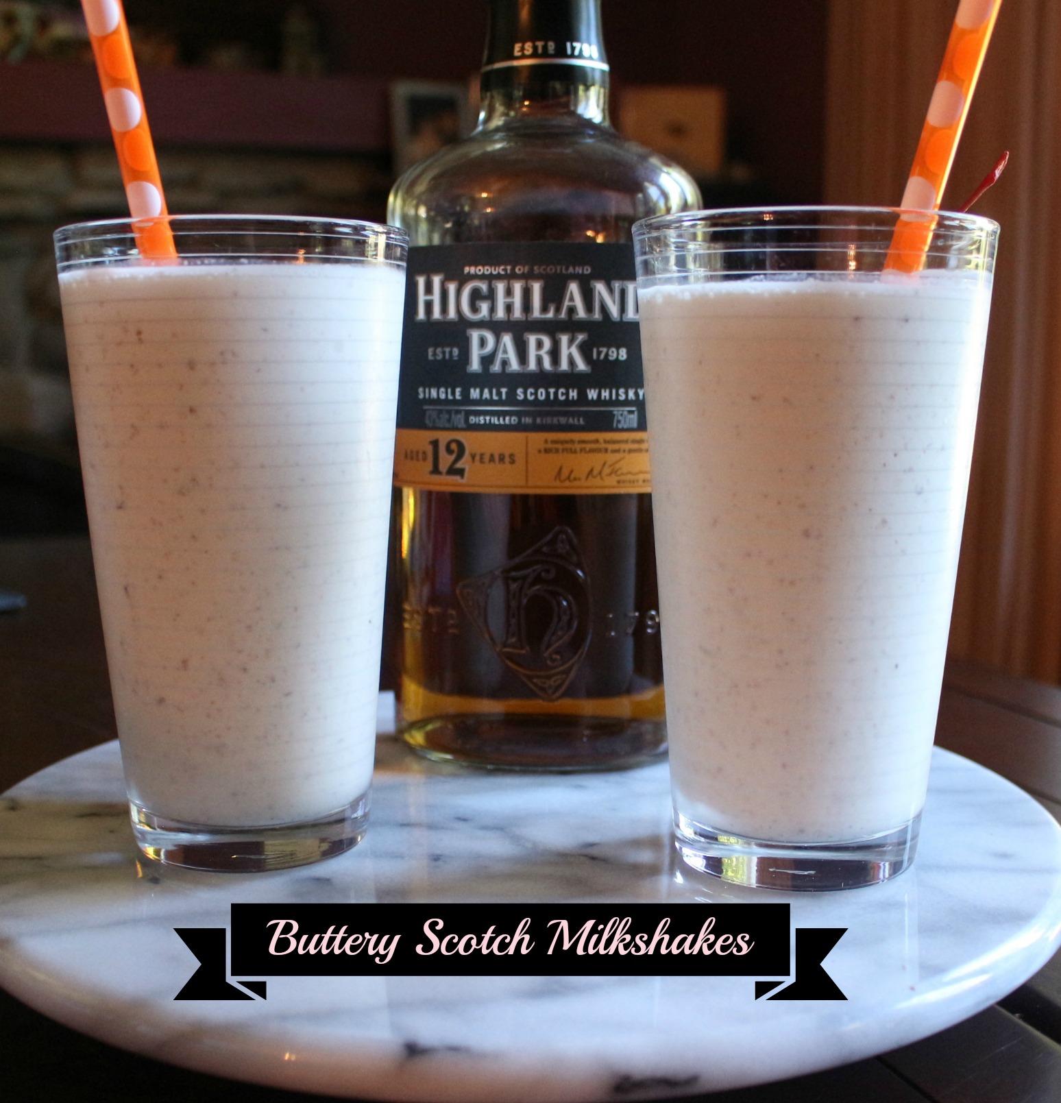 Buttery Scotch Milkshakes