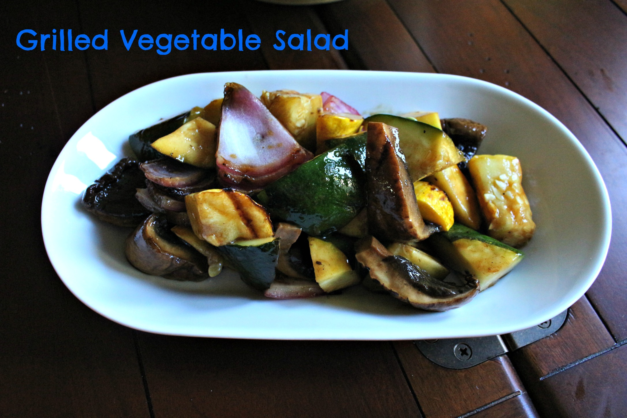 Grilled Vegetable Salad - By the Pounds